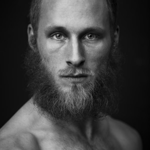 2014 portrait beard BW